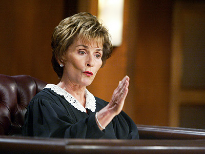 Min bild slår din bild Judge-judy